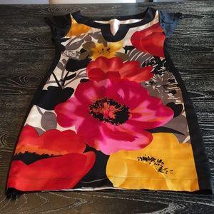 Yoana baraschi floral silk dress